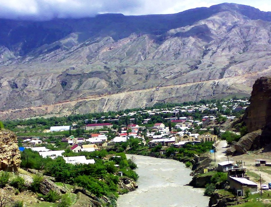 Фото района гергебля дагестан