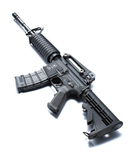 Шедевры стрелкового оружия. Пиндосская М 16 А